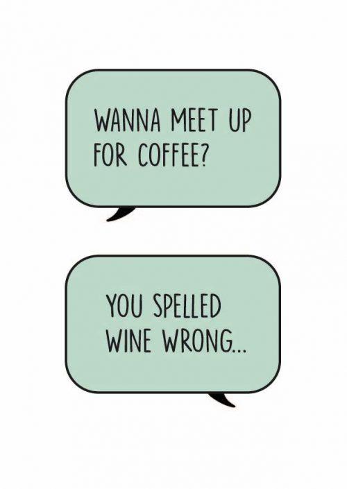 Kaart Wine