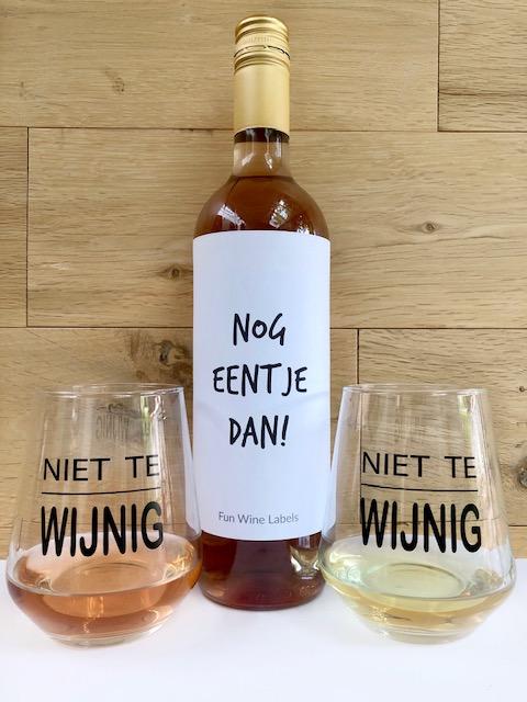 Wijn Glazen Pakket Rosé