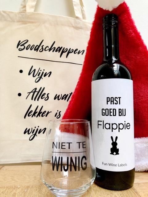 Kerstpakket Wijngek