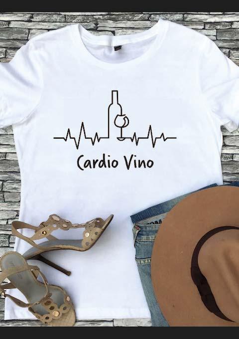 Wijn Hart Shirt