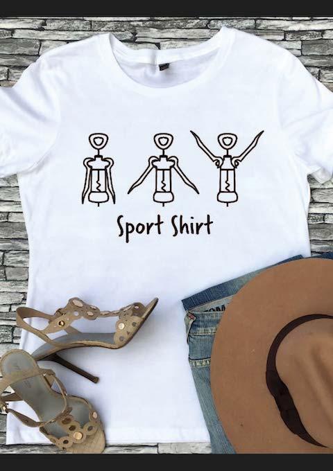 Wijn Sport Shirt