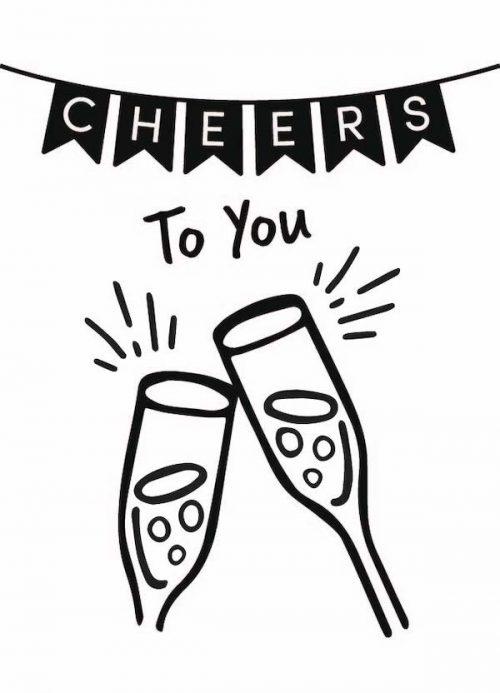 Kaart Cheers To You